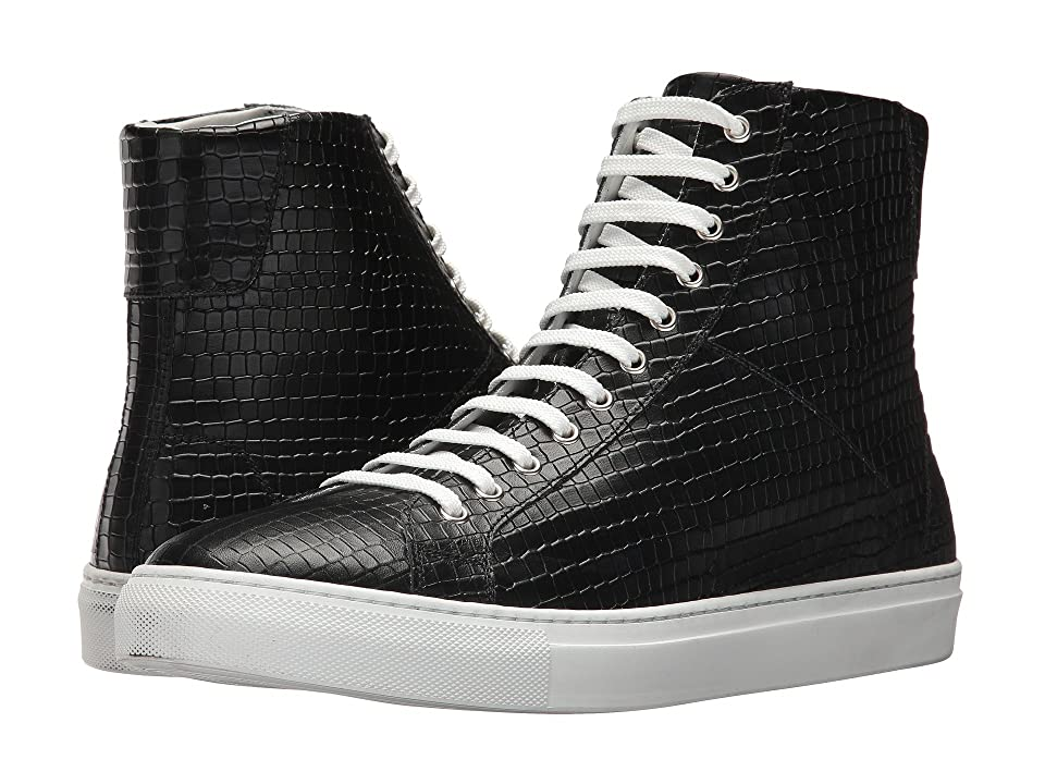 Gold & Gravy Dawson High Top Sneaker (Black) Men