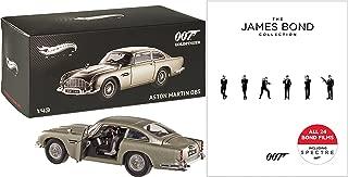 007: The James Bond Collection Blu-ray - Digital HD - Spectre Skyfall Quantum of Solace & Casino Royale + Hot Wheels Elite Aston Martin DB5 Goldfinger Gadget Car 24 Film Set Sean Connery Daniel Craig