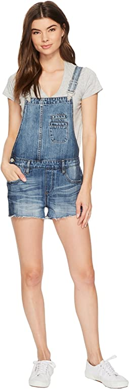 Blank NYC - Denim Overalls in Funny Bone