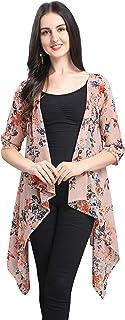 Serein Women's Blouson Georgette Coat
