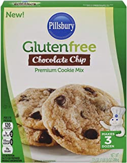 Pillsbury Gluten Free Chocolate Chip Cookie Mix, 17.5-Ounce (Pack of 12)