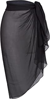 Women's Plus Size Bathing Suit Cover Up Beach Sarong
