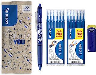 Pilot Pen, Frixion Clicker, Uitwisbare Balpen, 12 Vullingen, Blauw