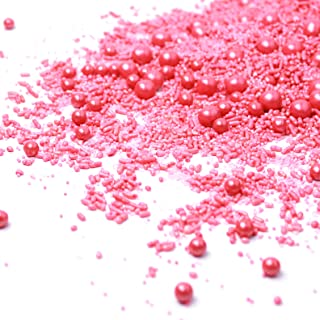 Blush Sprinkle Mix | Valentine's Day | Bridal Shower | Wedding Sprinkles, 2OZ (sample size)