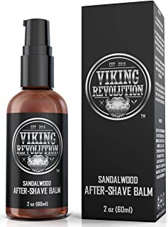 Luxury After-Shave Balm for Men - Premium After-Shave Lotion - Soothes and Moisturizes Face After Shaving - Eliminates Razor Burn for A Silky Smooth Finish - Sandalwood Scent