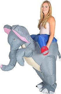 Bodysocks® Disfraz Hinchable de Elefante Adulto