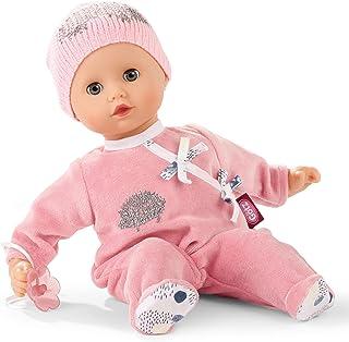 Götz 1920531 Muffin Igel Puppe - 33 cm große Babypuppe mit blauen Schlafaugen und ohne Haare - Weichkörper-Puppe in 4-teiligen Set - geeignet ab 18 Monaten