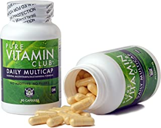Daily Multivitamins - 90 Day Supply - NO Fillers, NO Binders, NO Added Ingredients. Simply The Perfect Blen...