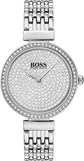 Hugo Boss Women's Silver White Dial Stainless Steel Watch - 1502515