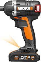 Chave de Impacto a Bateria 20V Brushless, Worx, WX292