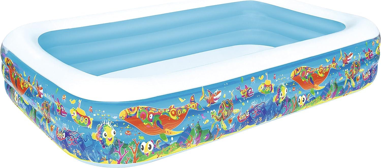 H2OGO  Inflatable Deluxe Rectangular Family Pool