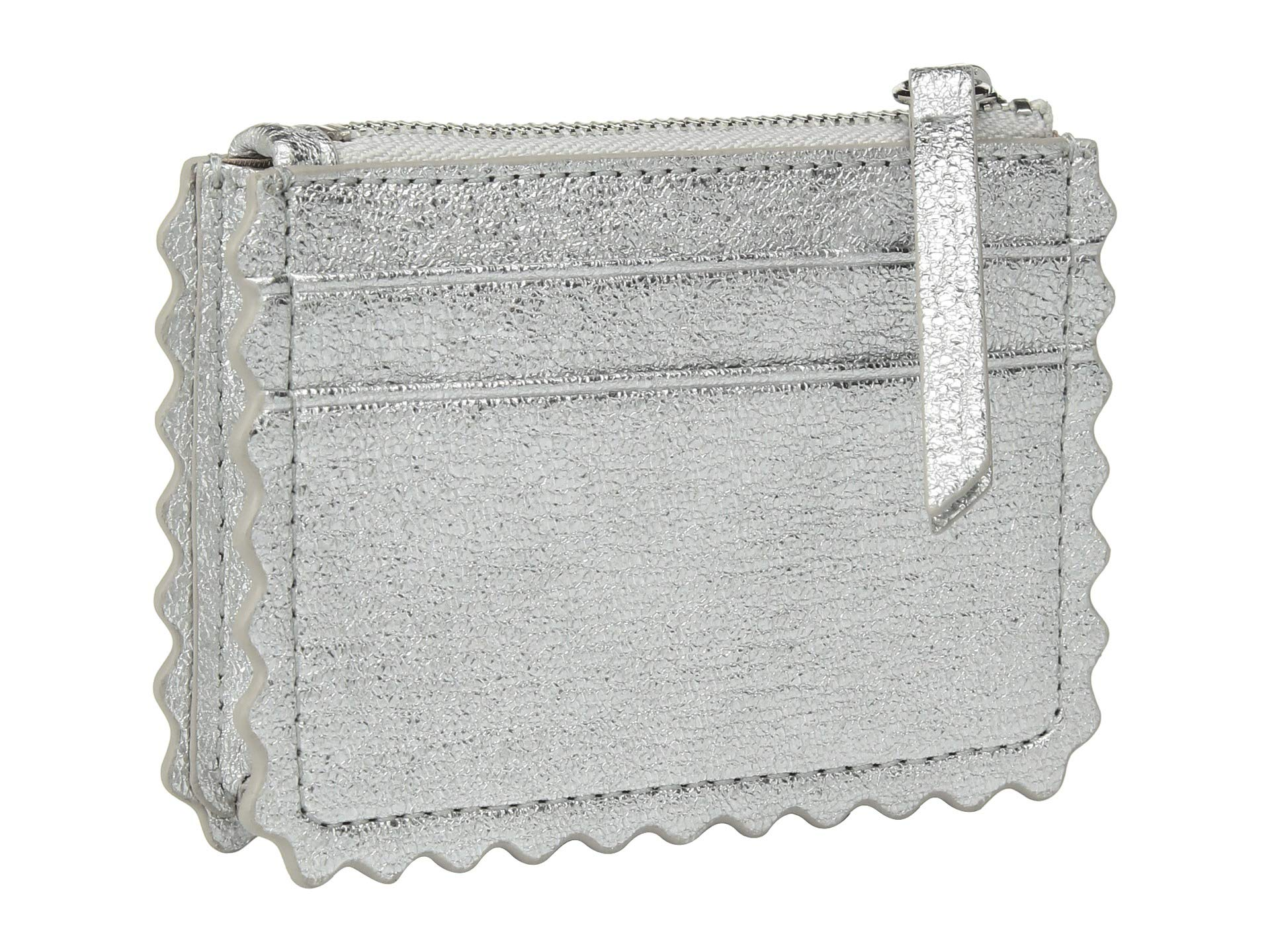Randall Nina Loeffler Silver Card Wallet S4gWWUqPwn