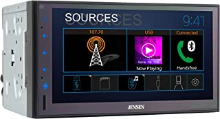 Jensen CMR682 6.8 inch Double DIN Bluetooth Car Stereo Digital Media Receiver with AM/FM/MP3/USB/Front & Rear Camera Suppo... photo