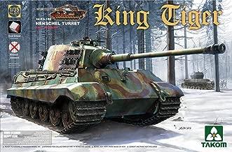 Takom 1/35 Sd.Kfz.182 King Tiger Henschel Turret with interior (without Zimmerit) No. 2073