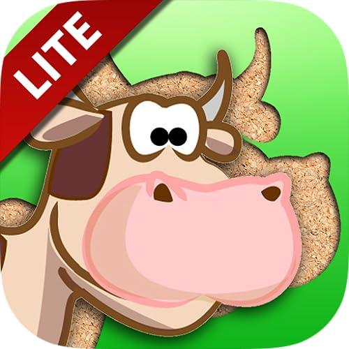 Free Farm Animals Cartoon Jigsaw Puzzle