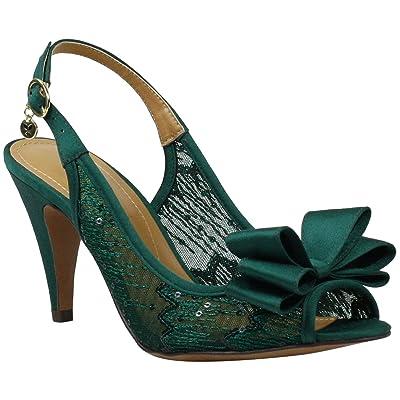 J. Renee Eponine (Green Sequin) Women
