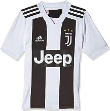Home Temporada 2018-2019 Replica Oficial con Licencia S M L XL 2 4 6 8 10 12 A/ÑOS JUVE Camiseta de F/útbol Cristiano Ronaldo 7 CR7 Juventus F.C y Adulto Todos Los Tama/ños Ni/ño