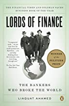 Lords of Finance: The Bankers Who Broke the World Book PDF