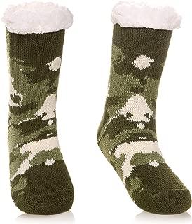 Kids Boys Girls Soft Comfy Slipper Socks Winter Fleece Lined Fuzzy Children Toddler Christmas Home Socks