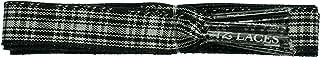 TZ Laces Branded Flat 10mm Scottish Tartan dress shoe Laces fashion shoes new