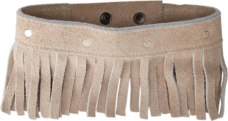Belca Premium Leather Dog Collar (Small, Brown)