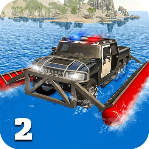 6x6 Offroad Truck Polizei Chase Spiel