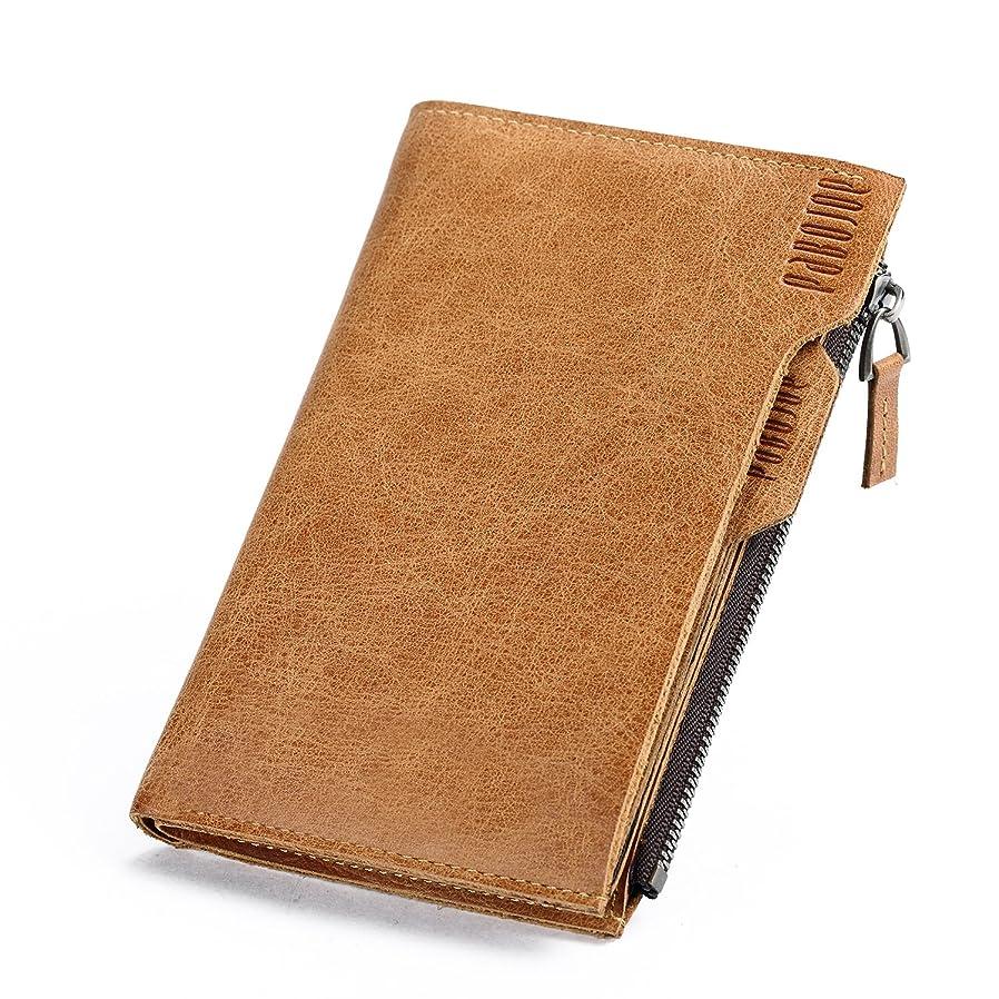 第葡萄何よりも[パボジョエ] 革 財布 二つ折り メンズ 人気 ブランド レザー 長財布