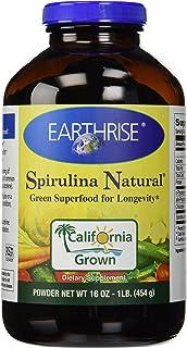 Earthrise, Spirulina Natural Powder, 16 oz (454 g)
