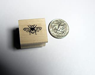 P24 Miniature bee Rubber Stamp
