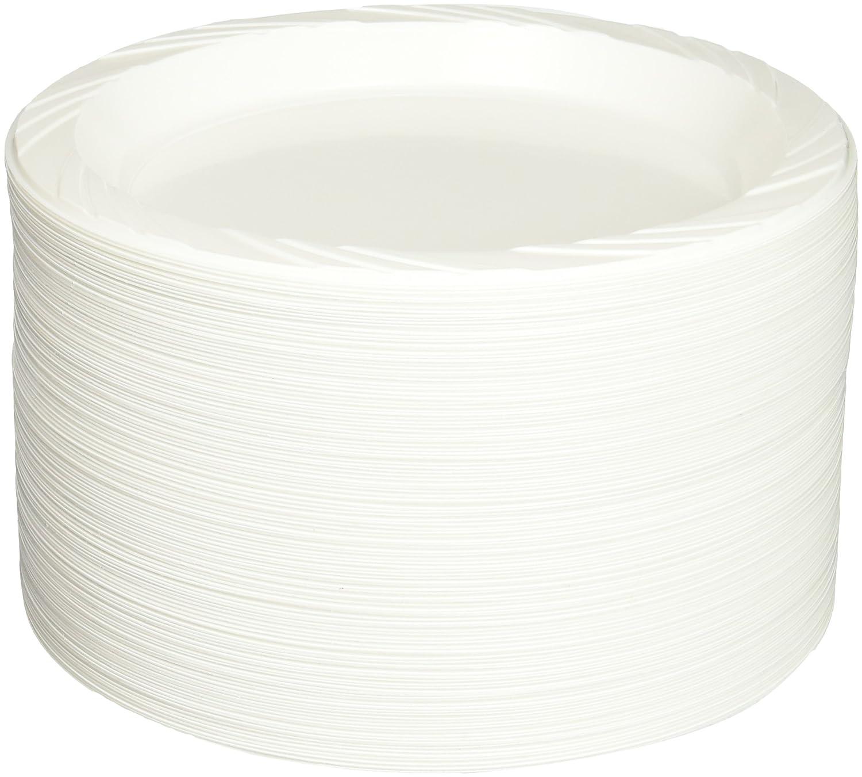 Genuine Joe GJO10329 Washington Mall Plastic Reusable Plate Disposable 9