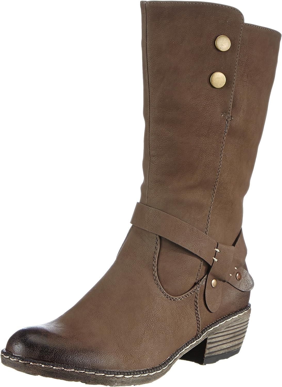 Rieker 93776 Damen Cowboy Stiefel