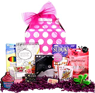 Beyond Bookmarks Teen Scene - Girl's Birthday or Special Occasion Gift with Fun Teen Oriented Activities and Gifts