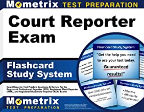 Court Reporter Exam Flashcard Study System: Court Reporter Test Practice Questions & Review for the Registered Professional Reporter (RPR), Registered ... Diplomate Reporter (RDR) Exams (Cards)