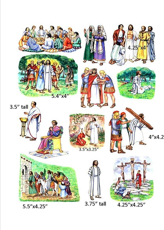 Dedication Mail order Crucifixion Resurrection of Jesus Toggle Size Felt for Figures