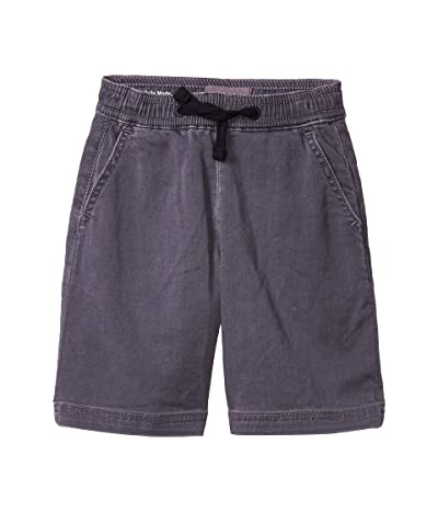 DL1961 Kids Mikey Athletic Shorts in Cloud Gray (Toddler/Little Kids/Big Kids) (Cloud Gray) Boy