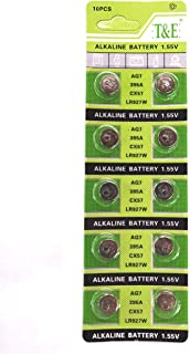 New AG7 395A LR927H SR927 Alkailine Button Cell Watch Battery (10 pieces)