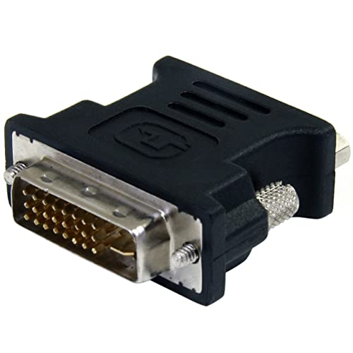 StarTech.com Adaptateur vidéo DVI vers VGA - Convertisseur DVI-I vers HD15 - Mâle / Femelle - Noir