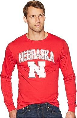 Nebraska Cornhuskers Long Sleeve Jersey Tee