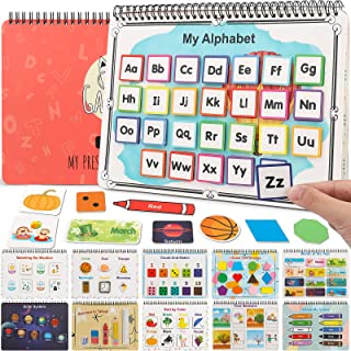 GAMENOTE Activity Busy Book for Toddlers - Preschool Binder Montessori Toy Quiet Books Educational Learning Book for Autis...