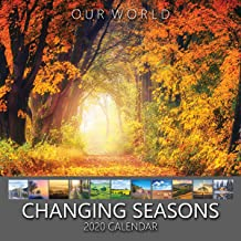 Our World: Changing Seasons 2020 Seasons Nature Wall Calendar