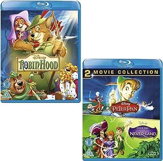 Robin Hood - Peter Pan (I and II) - Walt Disney 3 Movie Bundling Blu-ray