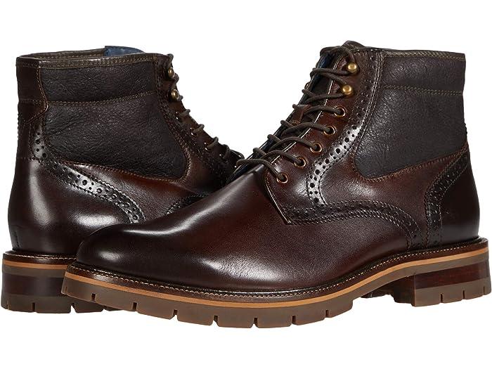 johnston and murphy sheepskin boots