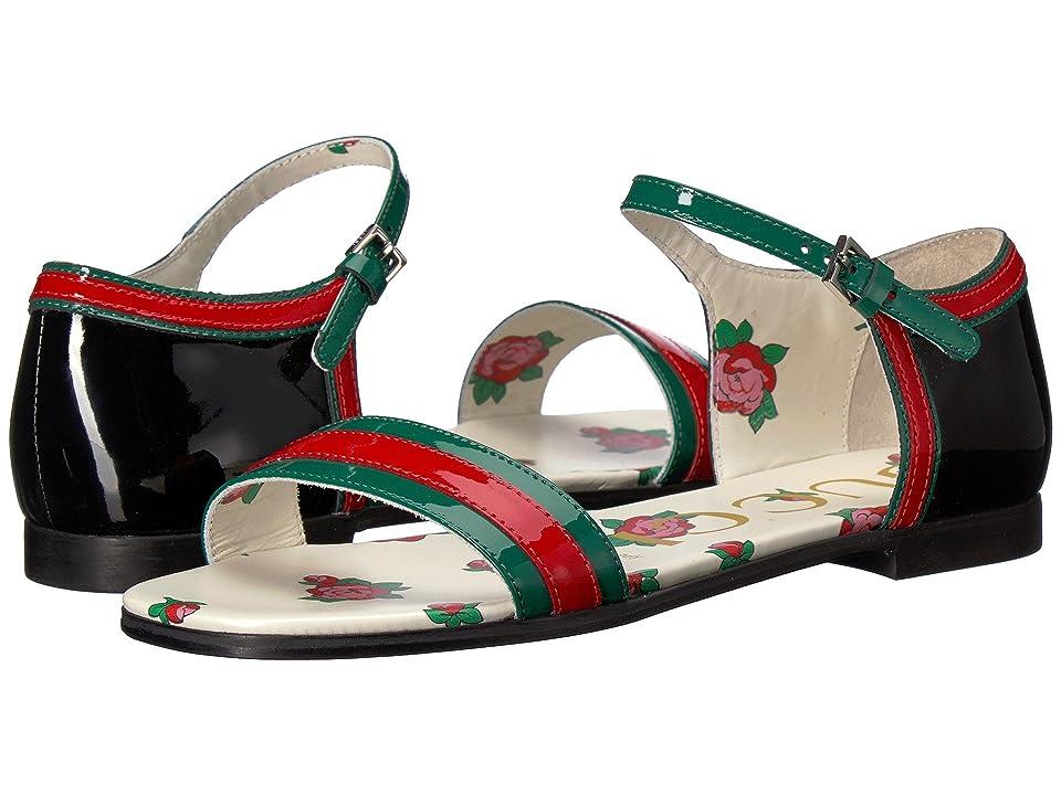 Gucci Kids Abby Sandal (Little Kid/Big Kid) (Emerald/Green) Girls Shoes