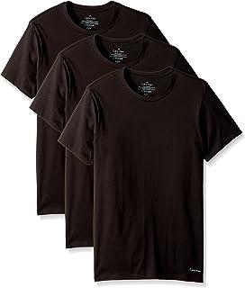 Calvin Klein Mens Cotton Classics Multipack Crew Neck T-Shirts