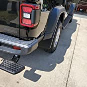 AMP Research 75326-01A BedStep Retractable Bumper Step for 2020 Jeep Gladiator