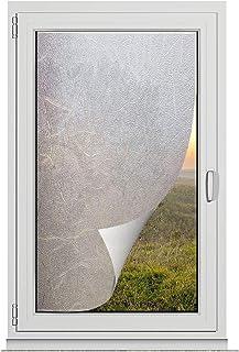 TRIXES Privacy Screen Window Film - Autocollants décoratifs d'auto-adhésif pour la Salle de réunion du Bureau de Salle de ...