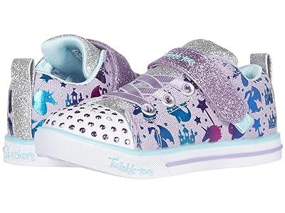 SKECHERS KIDS Twinkle Toes Sparkle Lite 314052N (Toddler) (Lavender/Multi) Girl