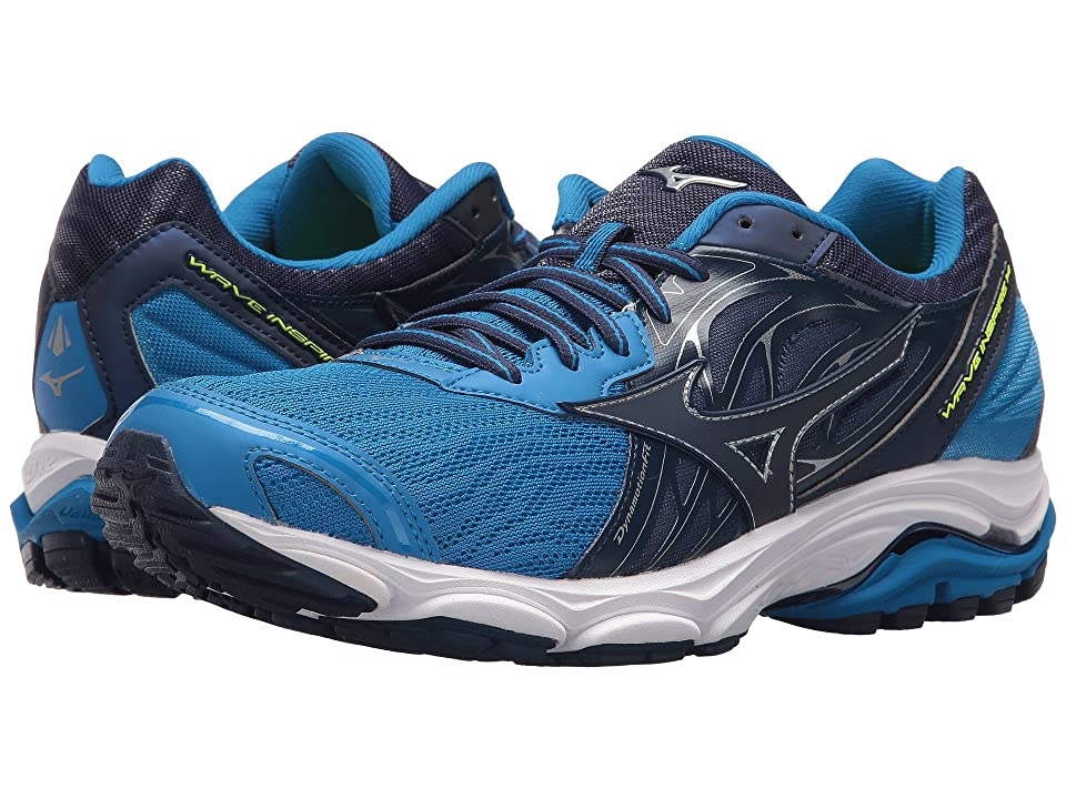 Mizuno Wave Inspire 14 (Directorie Blue/Blue Depths) Boys Shoes