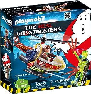 comprar comparacion PLAYMOBIL Ghostbusters Venkman con Helicóptero y Chorros de Agua Reales, a Partir de 6 Años (9385)