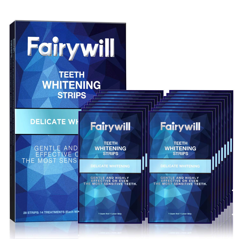 Fairywill Professional Whitening Strips Non Slip